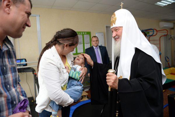 Посещение больницы святого великомученика и целителя Пантелеимона в Биробиджане. 15 сентября 2014 г.