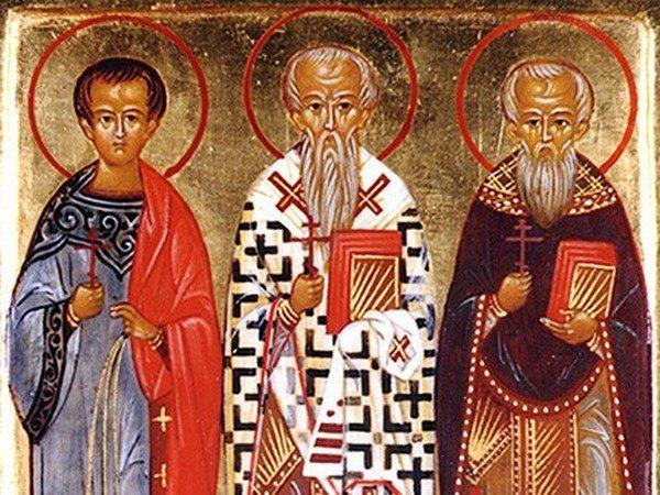Церковь чтит память епископа Акепсима, пресвитера Иосифа и диакона Аифала