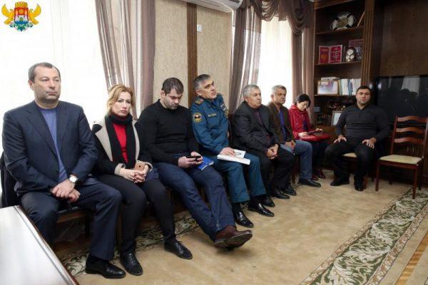 Заседание оперативного штаба. Фото: mkala.ru