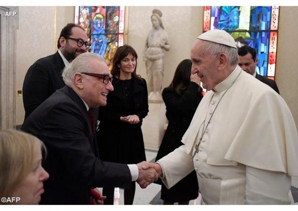 Папа Франциск обсудил с Мартином Скорсезе его новый фильм о иезуитах