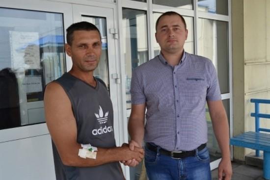 «Спасибо, что живой»: новосибирец спас едва не утонувшего в реке мужчину