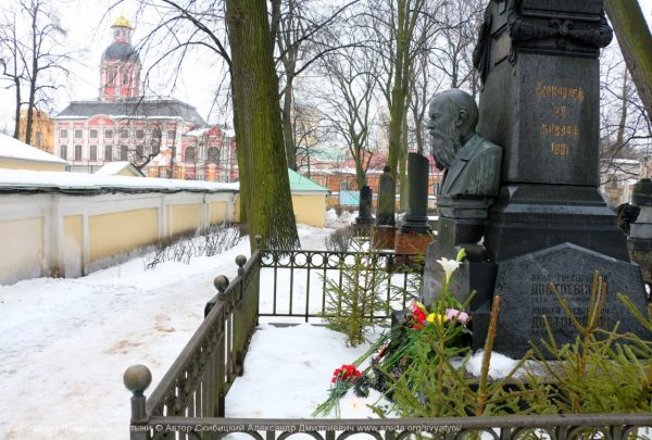 Могила Достоевских. Фото: Александр Скибицкий