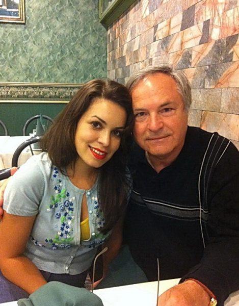 С дочкой Катей