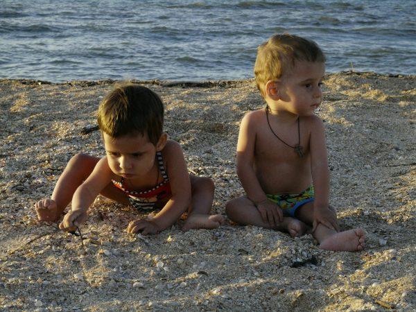 Илона и Илларион на море