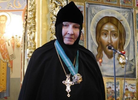Патриарх поздравил настоятельницу Горненского монастыря игумению Георгию с 85-летием