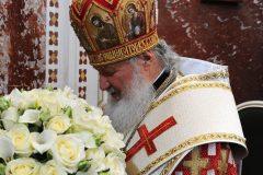 Патриарх Кирилл попросил священников не дарить ему цветы на юбилей
