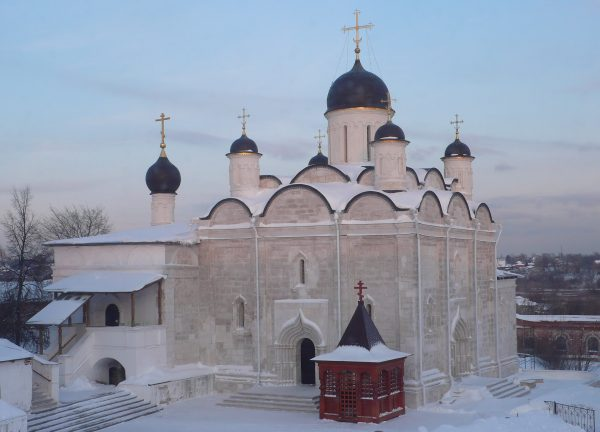 В Серпухове освящен собор Введенского Владычнего монастыря