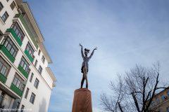 В Москве открыли памятник балерине Майе Плисецкой