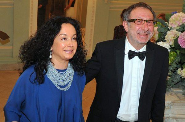 Евгений Маргулис с женой Анной. Фото: globallookpress.com