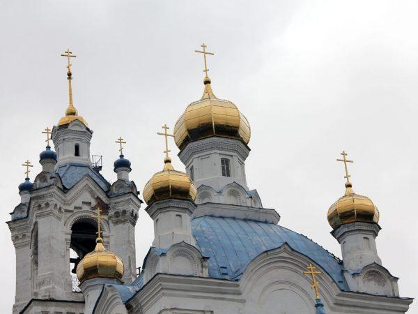 храм Покрова в Камышлове