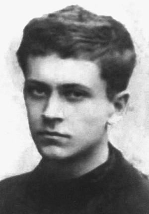 Студент Ленинградского университета Дмитрий Лихачев. 1925 г.