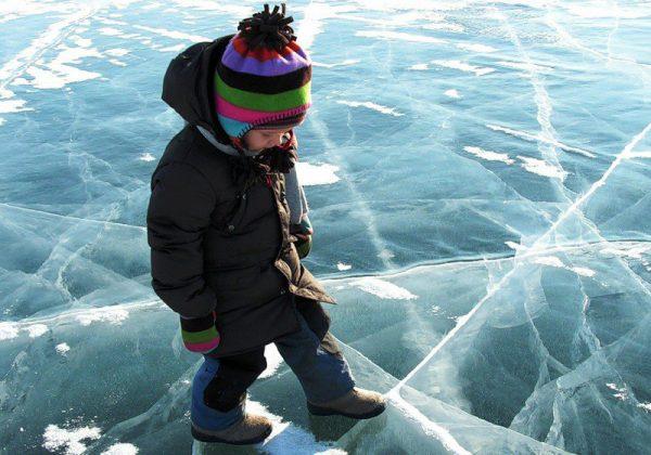 Беспечные дети, коварный лед