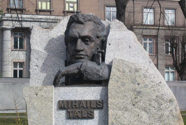 Памятник Талю в Риге