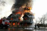 На Камчатке собирают пожертвования на восстановление сгоревшего храма
