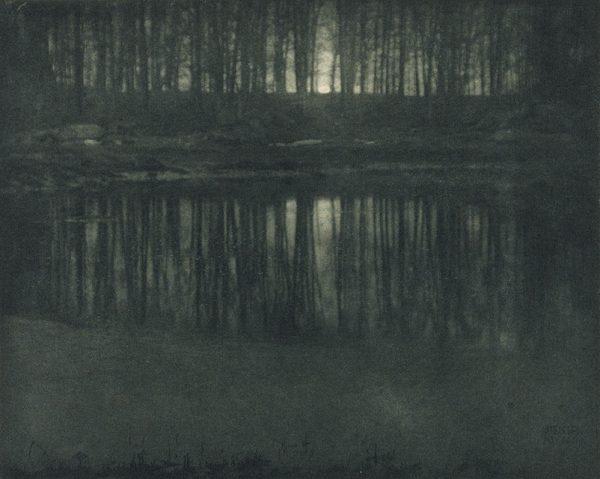 Эдвард Стейхен. Озеро в лунном свете. 1904. «На самом деле, любая фотография – это обман от начала до конца», – Эдвард Стейхен.