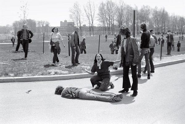 Джон Пол Фило. Расстрел в Кентском университете. 1970. «Я видел, как в этой девушке нарастает напряжение, наконец она закричала, и я нажал на спуск, среагировав на ее крик», – Джон Пол Фило.