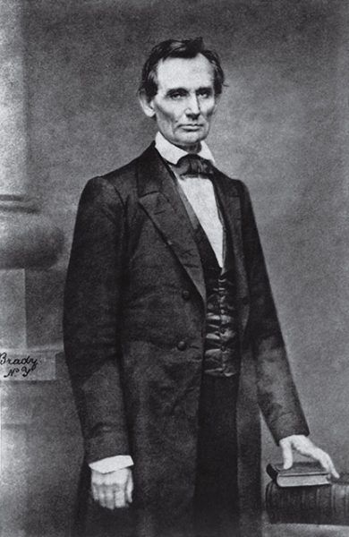 Мэтью Брэди. Авраам Линкольн. 1860. «Мне было очень сложно сделать естественный снимок», – Мэтью Брэди.