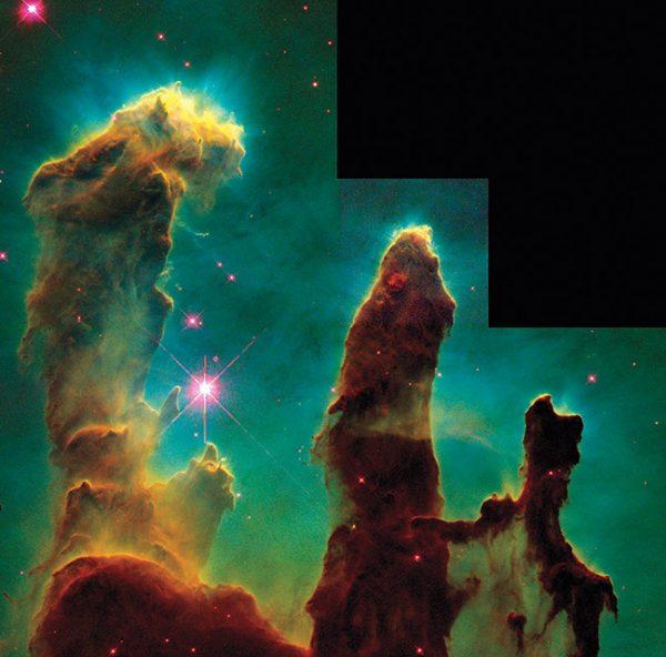 НАСА. Столпы Творения. 1995. «Мы всегда будем задаваться вопросом, какова наша связь с небом», – доктор Джефф Хестер, астроном.