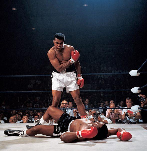 Нил Лейфер. Мохаммед Али против Сонни Листона. 1965. «Когда Мохаммед состарился, люди старались вспоминать о нем только хорошее. Они хотели запомнить его таким», – Нил Лейфер.