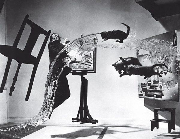 Филипп Халсман. Дали Атомикус. 1948. «До фотошопа был Филипп», – Ирен Халсман, дочь Филиппа Халсмана.
