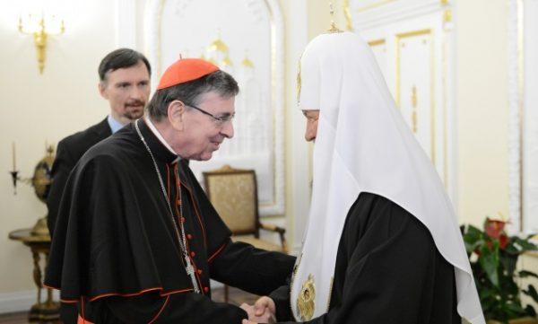 Патриарх Кирилл готов вместе с Ватиканом восстанавливать мир в Сирии