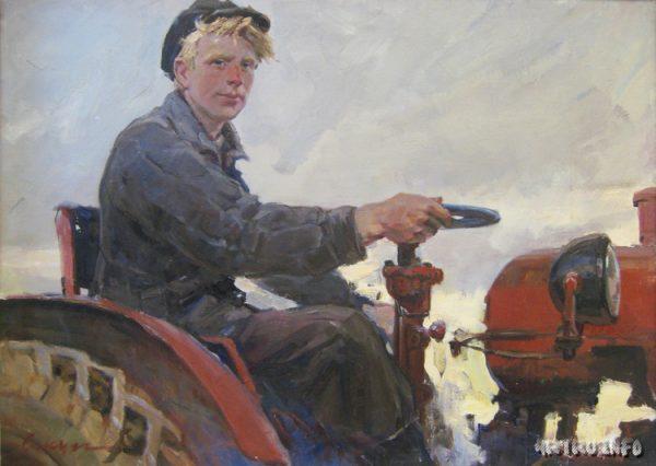 Картина художника Владимира Сакуна