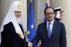 Патриарх Кирилл и Франсуа Олланд обсудили конфликты на Украине и в Сирии