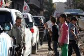 Красный Крест помогает раненым боевикам выехать из Алеппо
