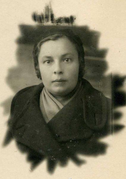 Фото бабушки 1940-х годов