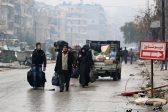 Колонна автобусов вывезла из Алеппо около двух тысяч человек