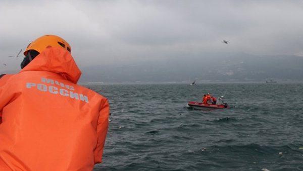 В районе крушения Ту-154 над Черным морем найдены тела 15 погибших
