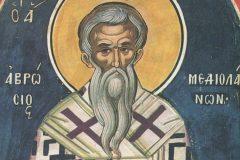 Церковь вспоминает святителя Амвросия, епископа Медиоланского