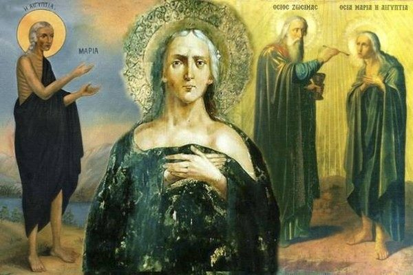 Седмицы Великого Поста - Мариино стояние