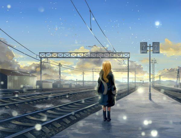 Поезд отходит в Новый год