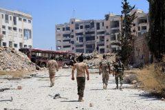 За сутки в восточной части Алеппо сложили оружие 375 боевиков