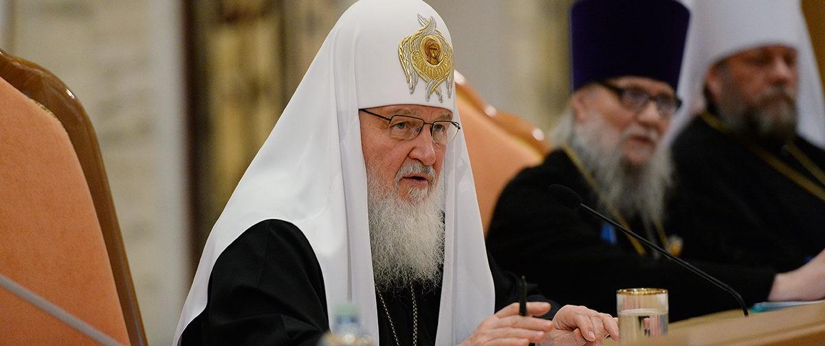 Патриарх Кирилл подвел итоги уходящего года для Церкви