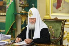 Патриарх: Мы должны провести 2017 год в молитвах о наших народах