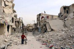 Более 13 тысяч мирных жителей покинули Алеппо за сутки