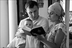 Самодельный крест православной семьи