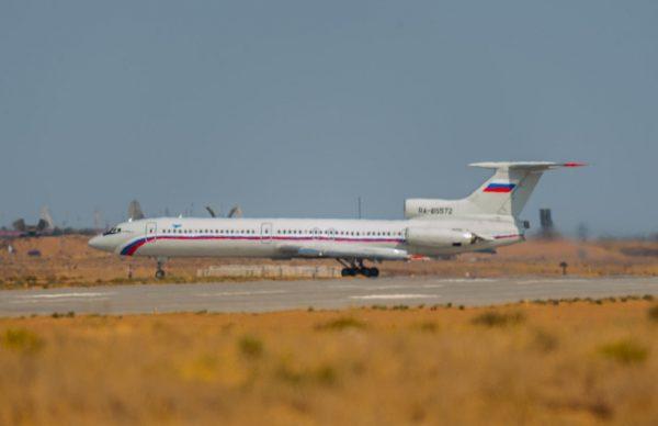 Самолет ТУ-154 упал вЧерное море
