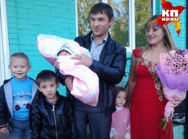 Семья Башкатовых. Фото из личного архива/ufa.kp.ru