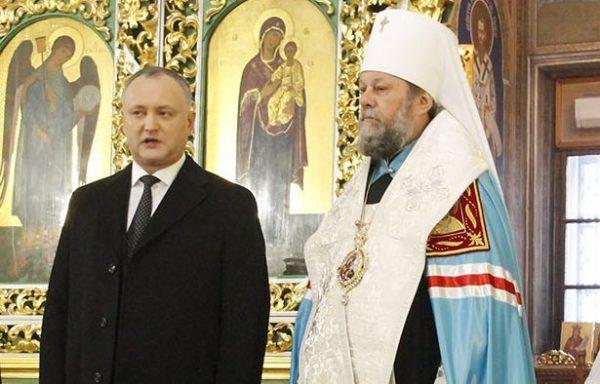 Новый президент Молдовы: У нас есть будущее только при сохранении православия