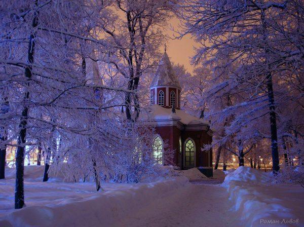 Храм Рождества Иоанна Предтечи на Каменном острове. Фото: Роман Львов