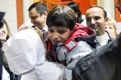 Дети из Сирии вернулись домой после лечения в Петербурге