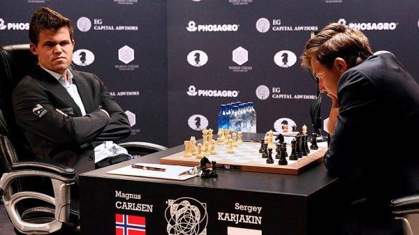 Норвежец Магнус Карлсен сохранил титул чемпиона мира по шахматам