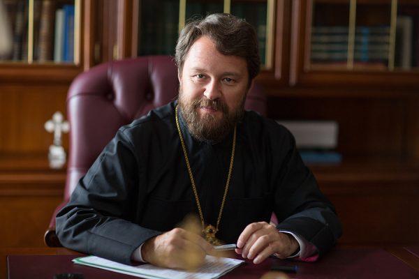 Митрополит Иларион (Алфеев) презентует новую книгу «Нагорная проповедь»