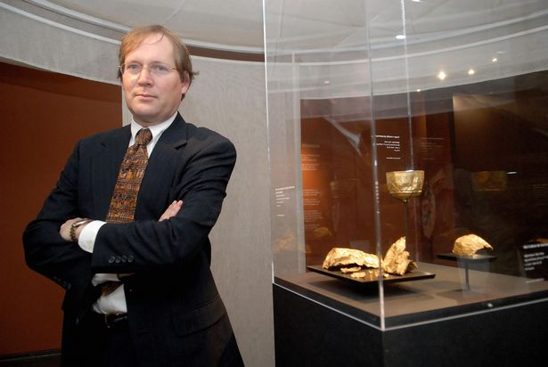 Археолог Фредрик Т. Хиберт. Фото: Getty