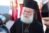 Патриарх Александрийский 9 часов плыл на лодке ради освящения храма