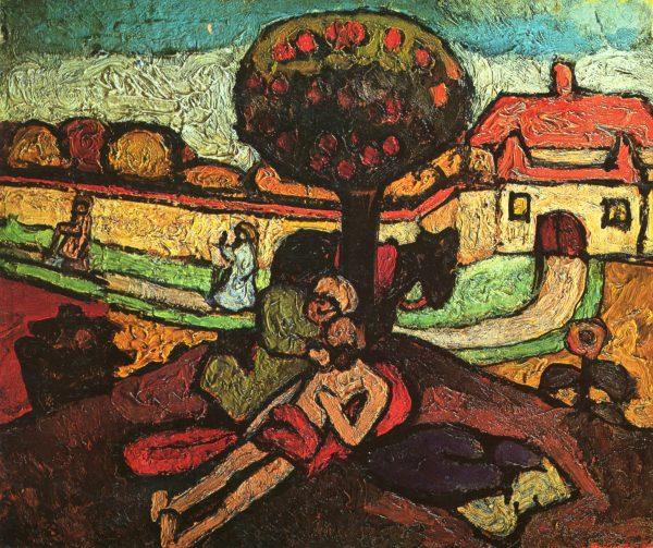 Картина Паулы Модерсон-Беккер
