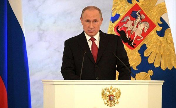 Владимир Путин пообещал жесткую реакцию государства на вандализм